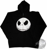 Nightmare Before Christmas Face Scowl Hoodie