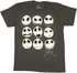 Nightmare Before Christmas Faces T Shirt Sheer