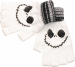 Nightmare Before Christmas Heather Cuff Fingerless Gloves