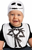 Nightmare Before Christmas Jack Bib Hat Infant Costume