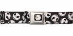 Nightmare Before Christmas Jack Face Seatbelt Belt