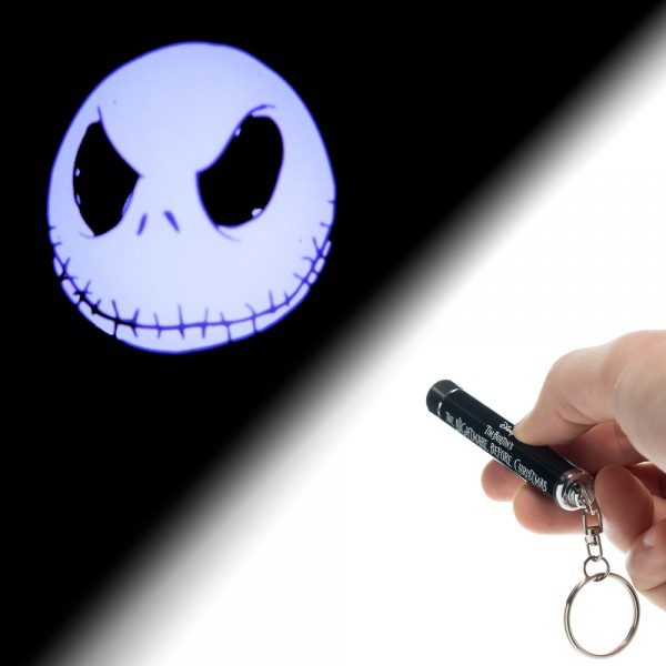 Nightmare Before Christmas Jack Flashlight Keychain