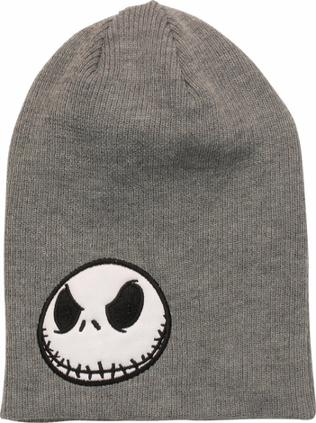 Nightmare Before Christmas Jack Gray Beanie