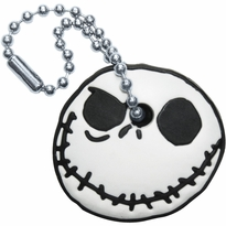 Nightmare Before Christmas Jack Grin Key Cap Keychain