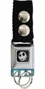 Nightmare Before Christmas Jack Quizzical Keychain