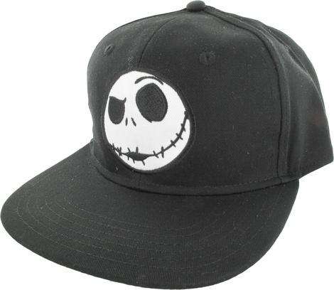 Nightmare Before Christmas Simple Jack Snap Hat