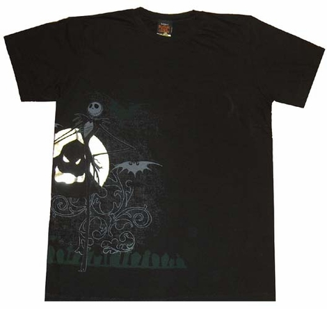 Nightmare Before Christmas T-Shirt Sheer