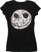 Nightmare Before Christmas Vintage Jack Baby Tee