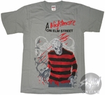 Nightmare on Elm Street Freddy T-Shirt
