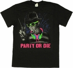 Nightmare on Elm Street Party or Die T Shirt