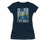 Nightwing Fly Solo Juniors T Shirt