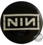 Nine Inch Nails Logo Button