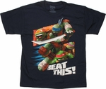 Ninja Turtles Beat This Youth T Shirt