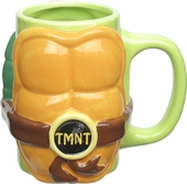 Ninja Turtles Body Sculpted Mug