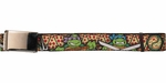 Ninja Turtles Charcters Pizza Slices Mesh Belt