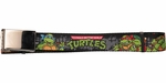 Ninja Turtles Classic Cartoon Turtles Gray Sewer Wall Mesh Belt