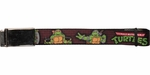 Ninja Turtles Classic TMNT Brick Wall Mesh Belt