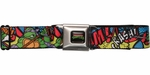 Ninja Turtles Crash Bam Kapow Seatbelt Mesh Belt