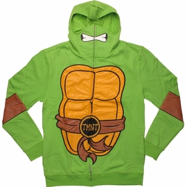 Ninja Turtles Deluxe Suit Up Zip Hoodie