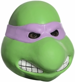 Ninja Turtles Donatello Full Head Adult Latex Costume Mask