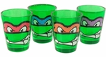 Ninja Turtles Faces Green Shot Glass Set
