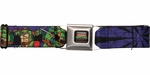 Ninja Turtles Heroes and Villains Seatbelt Mesh Belt