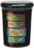 Ninja Turtles Heroes Retangle 3 Ounce Glass Jar