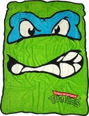 Ninja Turtles Leonardo Fleece Blanket