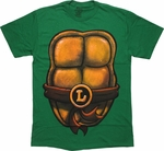 Ninja Turtles Leonardo Shell Costume T-Shirt