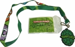 Ninja Turtles Masks Charm Badge Lanyard