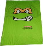Ninja Turtles Michelangelo Blanket