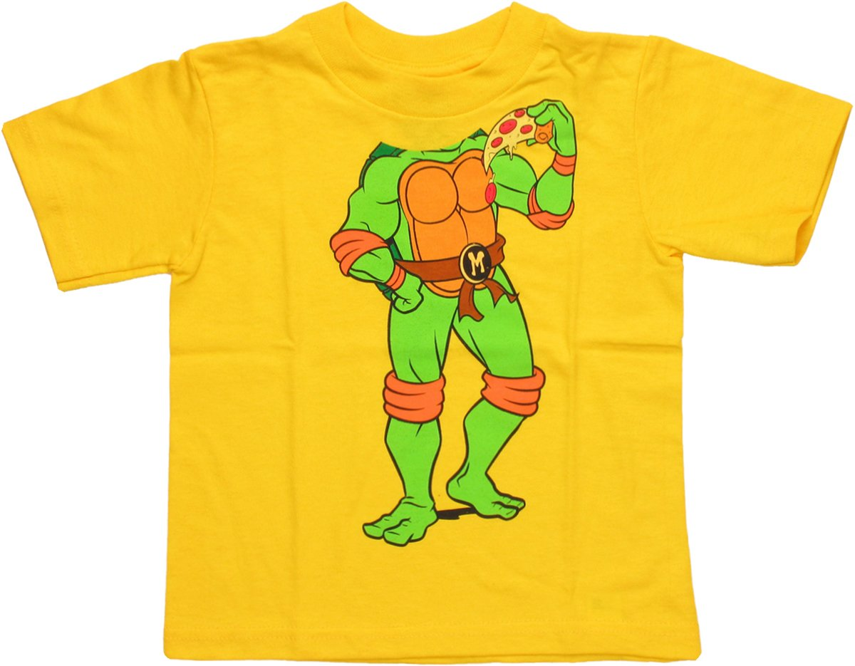 Ninja Turtles Michelangelo Body Toddler T Shirt