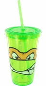 Ninja Turtles Michelangelo Face Travel Cup