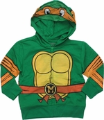 Ninja Turtles Michelangelo Mesh Mask Toddler Hoodie