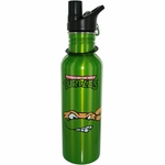 Ninja Turtles Michelangelo Metal Water Bottle