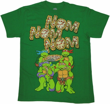Ninja Turtles Nom T Shirt