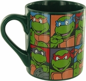 Ninja Turtles Portrait Grid Mug