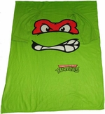 Ninja Turtles Raphael Blanket