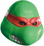 Ninja Turtles Raphael Full Head Adult Latex Costume Mask