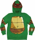 Ninja Turtles Raphael Mesh Mask Youth Hoodie