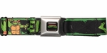 Ninja Turtles Turtle Lean Mean Green Seatbelt Belt