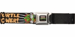 Ninja Turtles Turtle Power Cartoon Seatbelt Belt