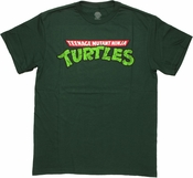 Ninja Turtles Vintage Logo T Shirt