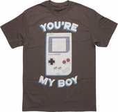 Nintendo Gameboy You're My Boy T-Shirt