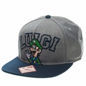 Nintendo Luigi Name Hat