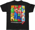 Nintendo Mario Kart 7 Bars Youth T Shirt
