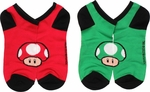Nintendo Mushroom Low Cut 2 Pair Socks Set