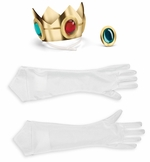 Nintendo Princess Peach Adult Costume Accessory Kit
