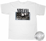 Nirvana Band Equipment T-Shirt