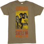 Nirvana Concert T-Shirt Sheer